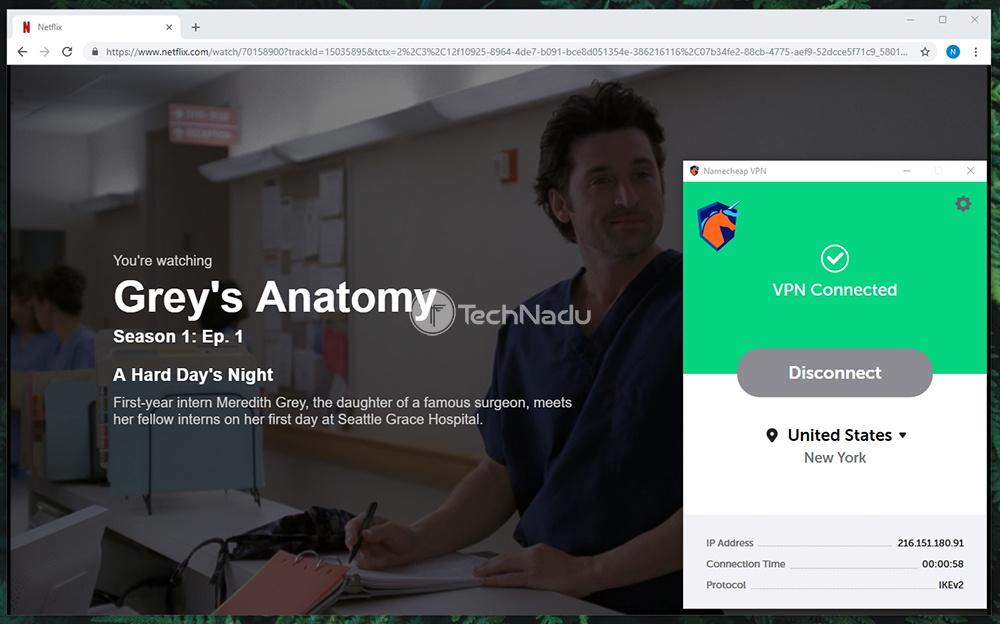 Namecheap VPN Netflix Streaming