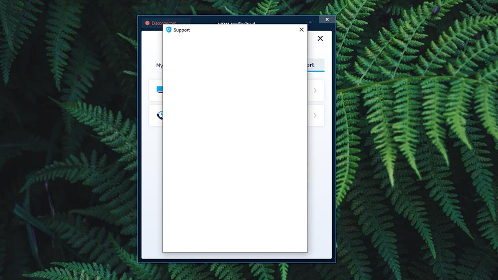 UI Bug VPN Unlimited Windows App