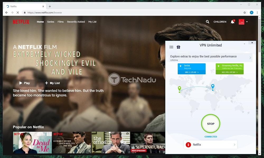 VPN Unlimited Unblocks Netflix