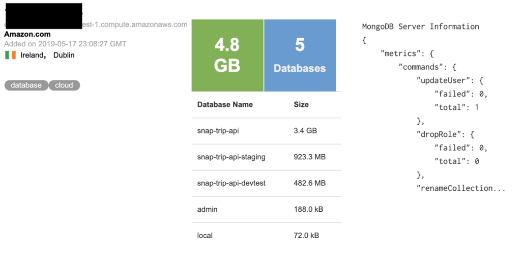 Snaptrip Database Leaks Out the Details of a Thousand of its