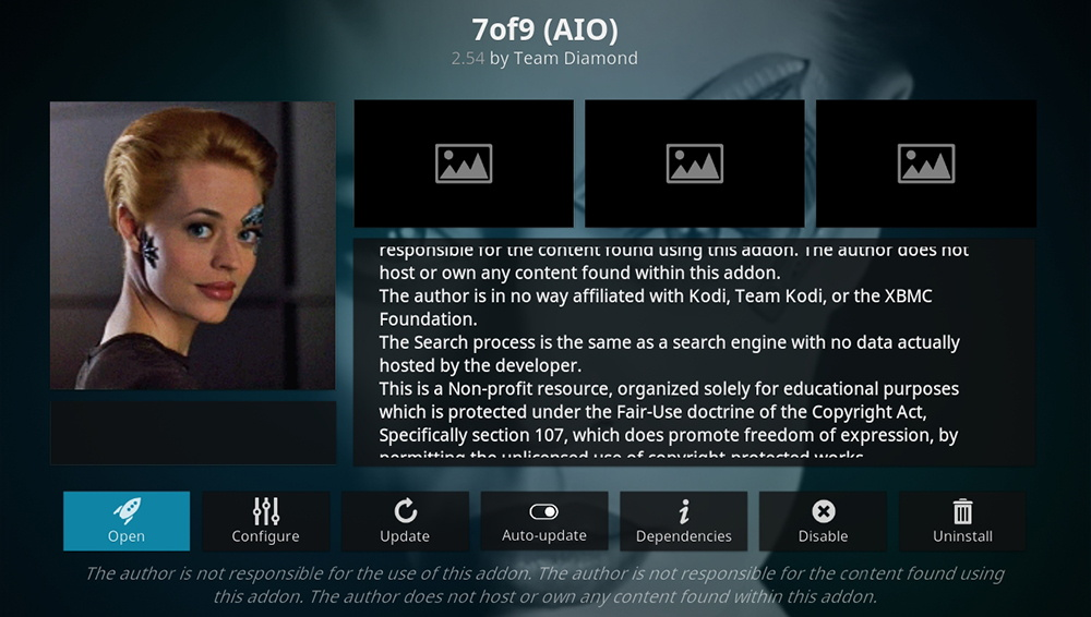 7of9 AIO Kodi Addon