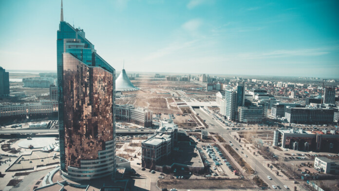 Astana urban landscape