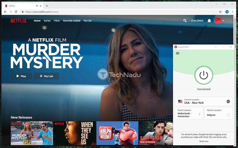 ExpressVPN Unblocks Netflix