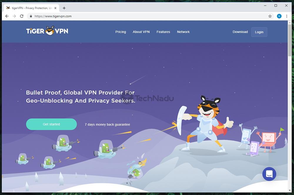 Link to TigerVPN Website