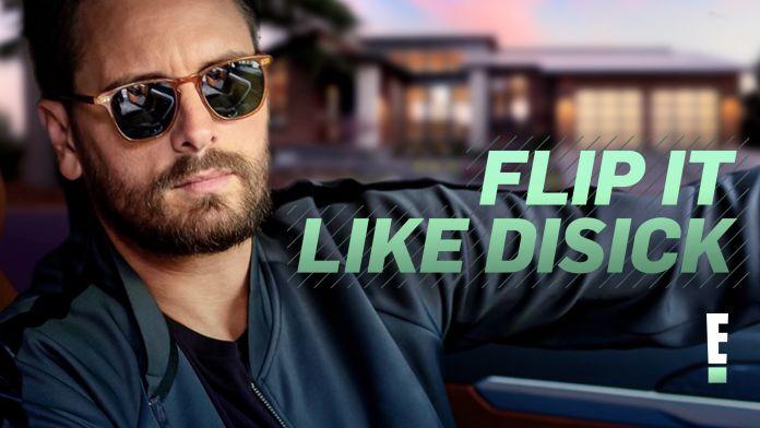Scott Disick promotes Flip It Like Disick