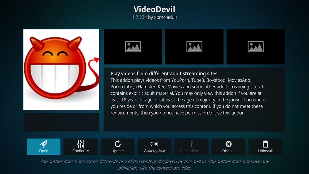 Adult video player