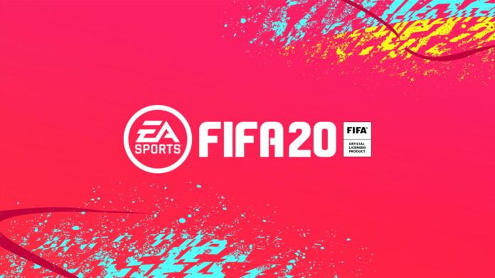 FIFA 20 Video Game Logo