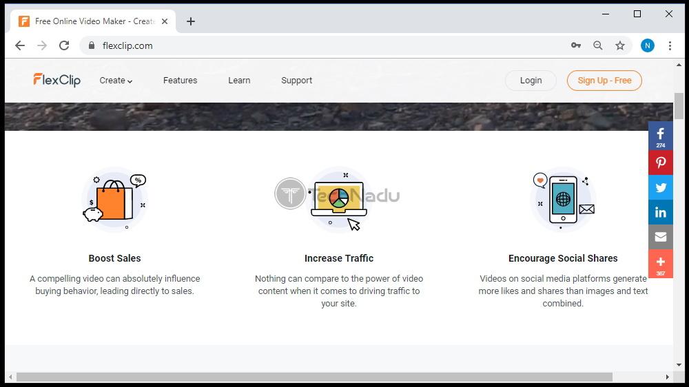 FlexClip List of Features