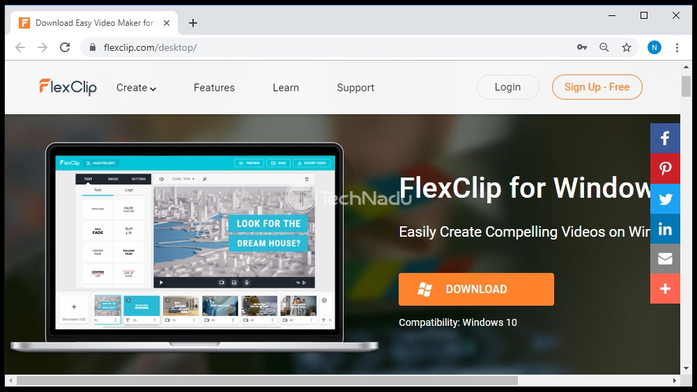 FlexClip for Windows