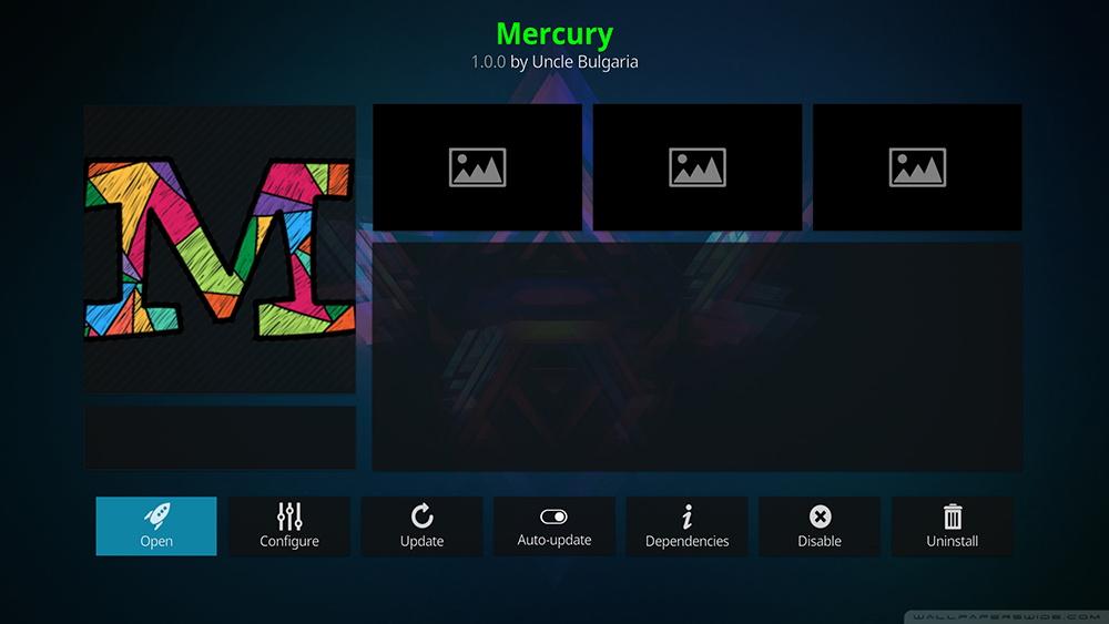 Mercury Kodi Addon