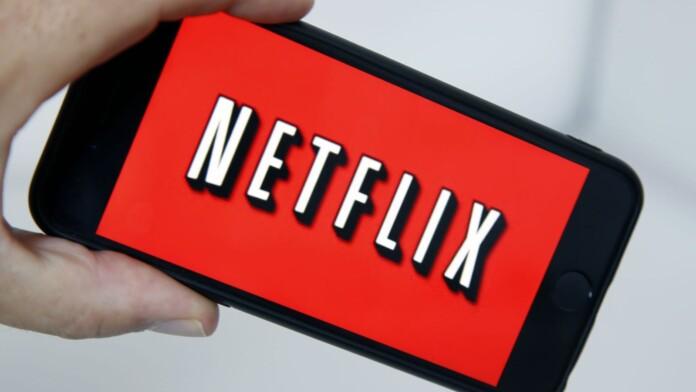 smartphone Netflix logo