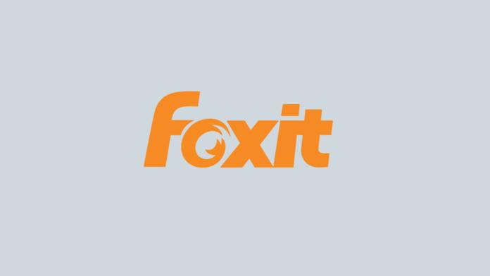 foxit logo