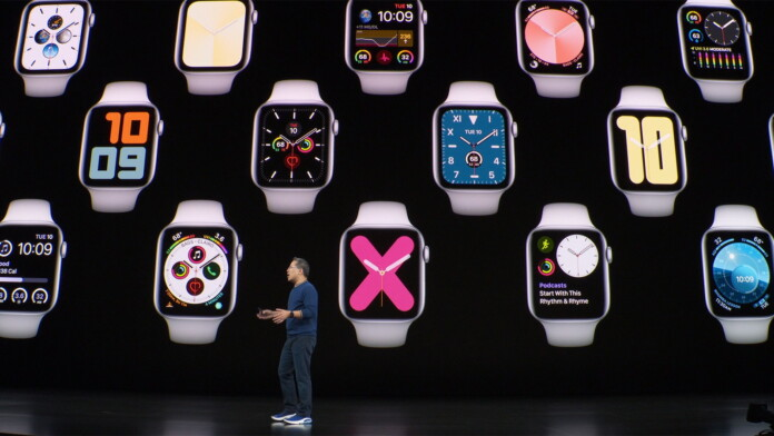 Apple Watch Series 5 Keynote