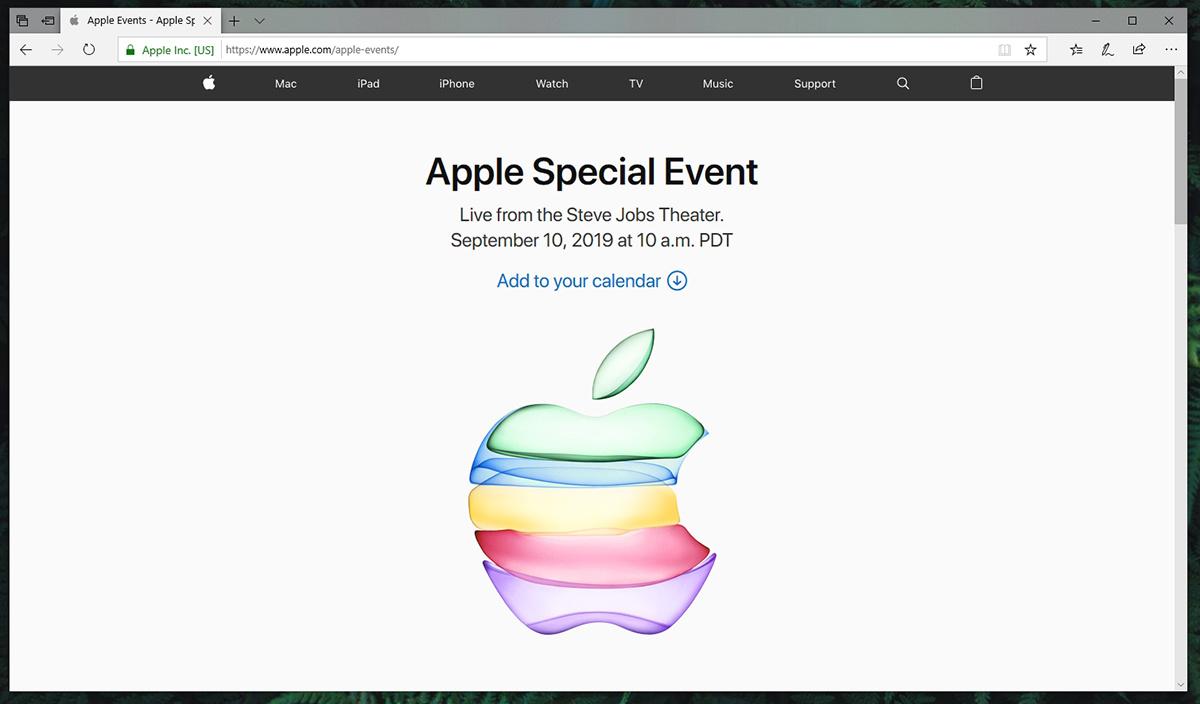Apple iPhone 11 Event Live-Stream Windows