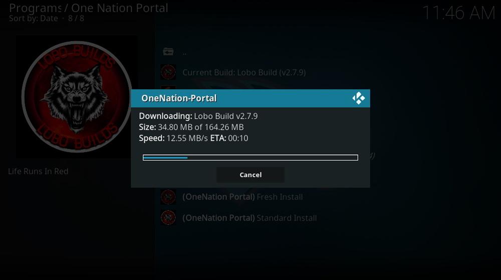 Lobo Kodi Build Download