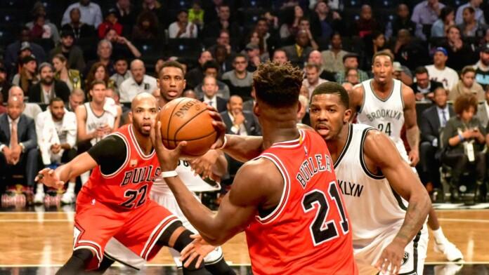 Nets vs Bulls Basketball at Barclays Center