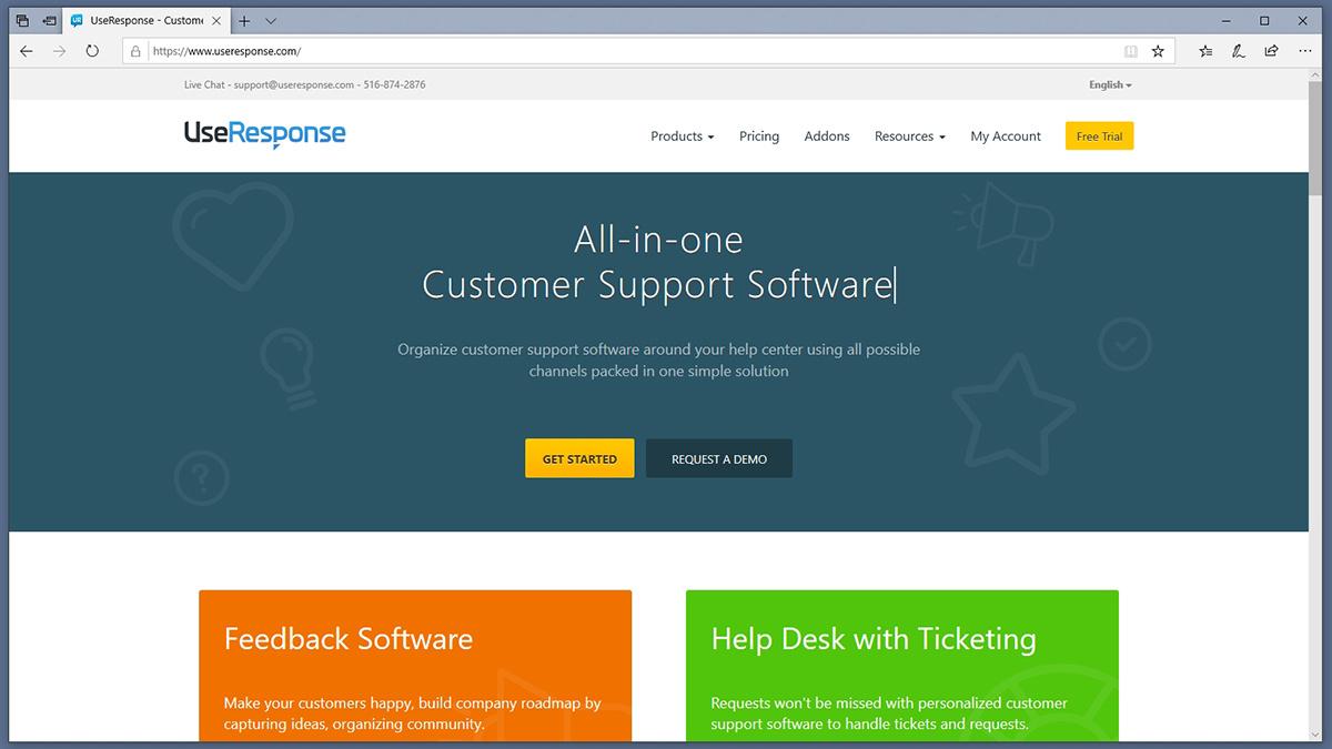 UseResponse Homepage