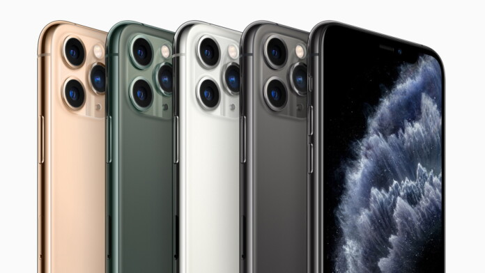 iPhone 11 Pro Color Variations