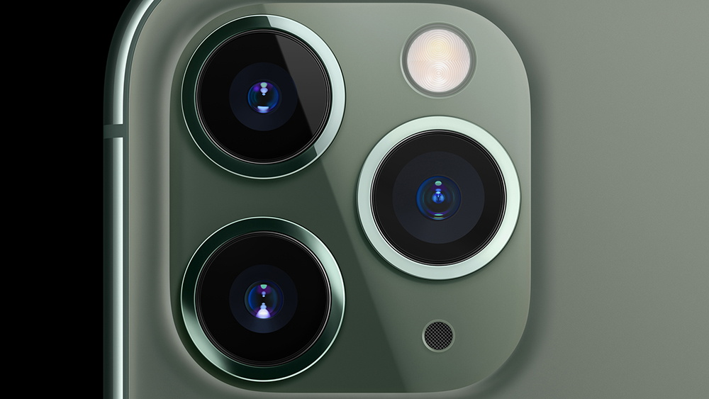 iPhone 11 Pro Triple Camera System