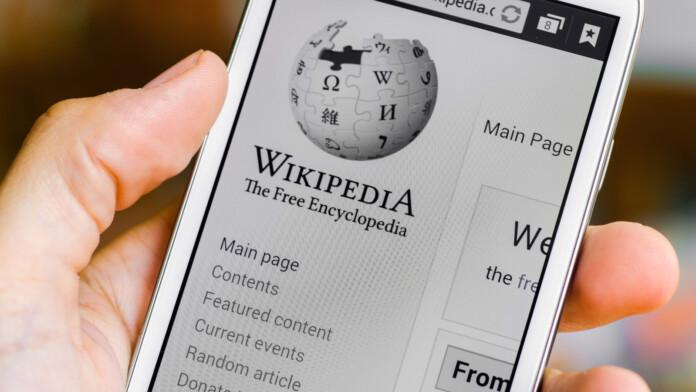 wikipedia on mobile