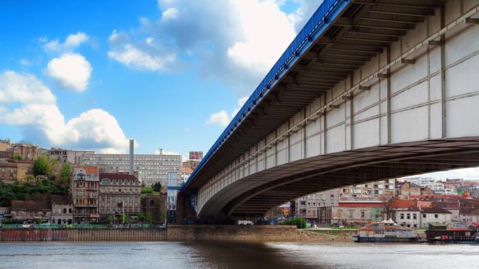 Belgrade Bridge Serbia