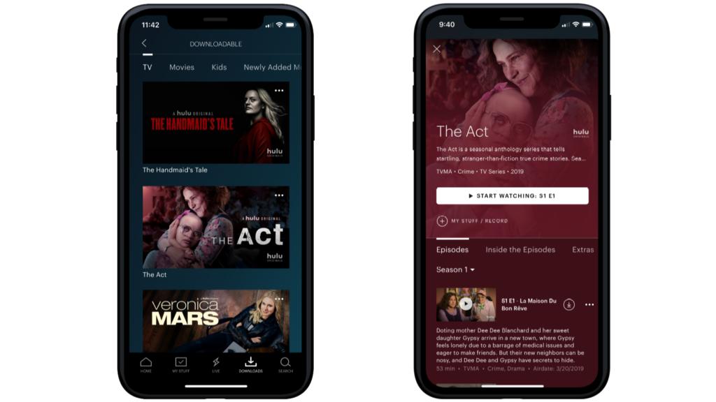 Hulu's new downloads feature