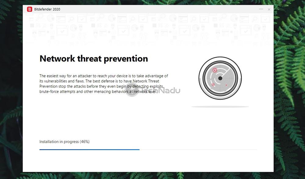 Installation in Progress Bitdefender Premium VPN