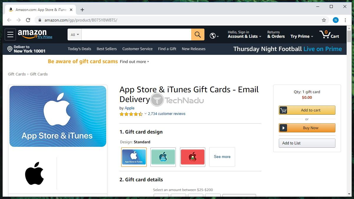 App Store Gift Card Amazon