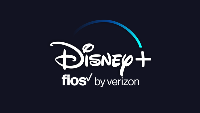Disney Plus Fios Verizon Logos