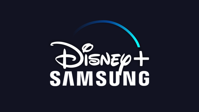 Disney Plus Samsung Logos