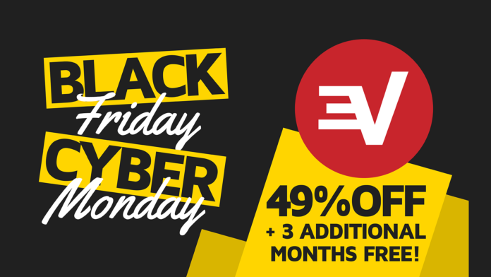 ExpressVPN Black Friday Cyber Monday Deal 2019