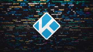 Kodi Logo Code Background