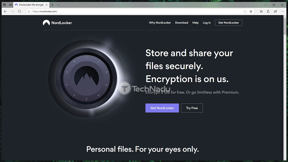 Link to NordLocker Website