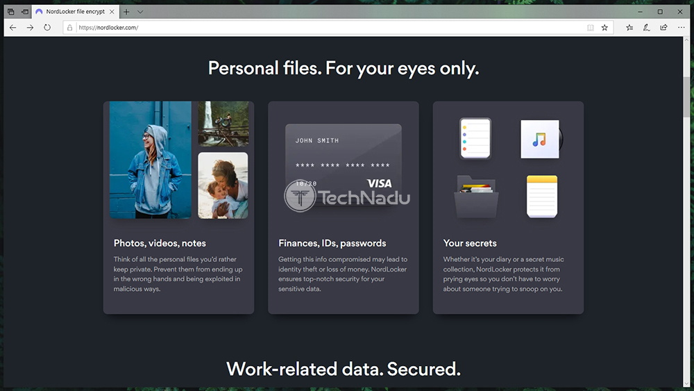 NordLocker List of Features