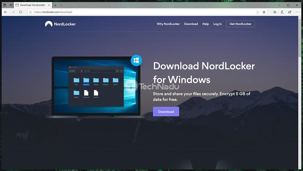 NordLocker for Windows