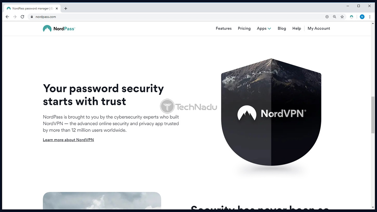 NordPass Privacy Security