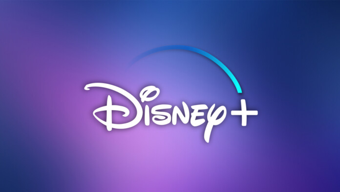 Disney Plus Logo Gradient Background