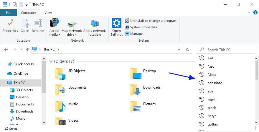 new-file-explorer-search
