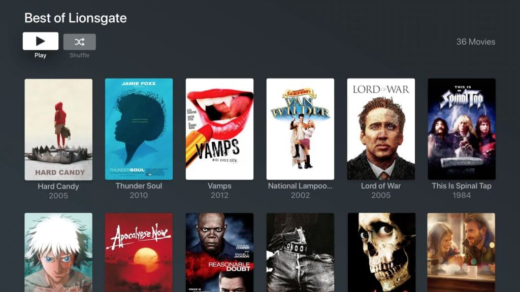 plex-movies-and-tv-lionsgate