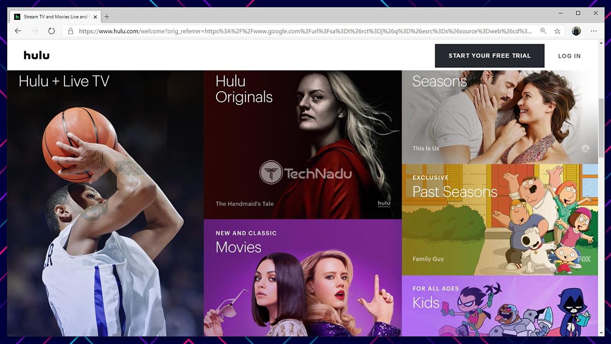 Hulu Website