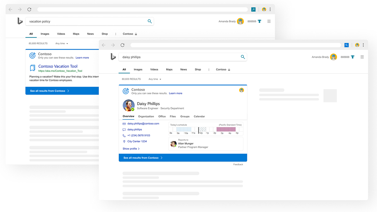 Microsoft Search Appearance