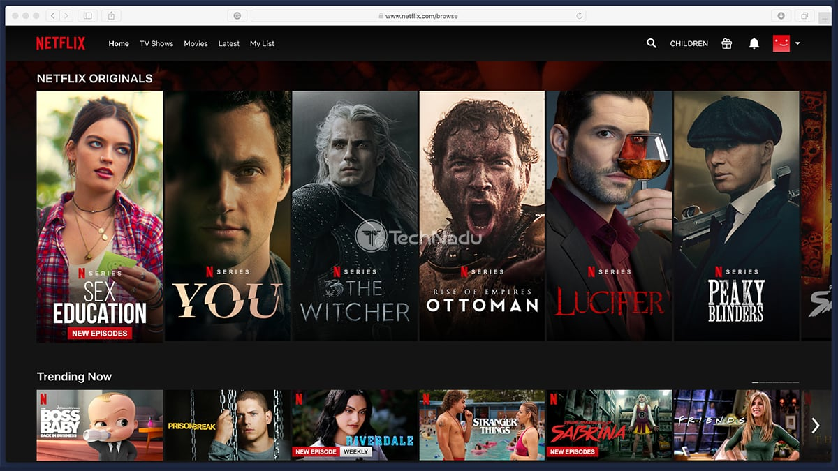 Netflix Highlighted Originals