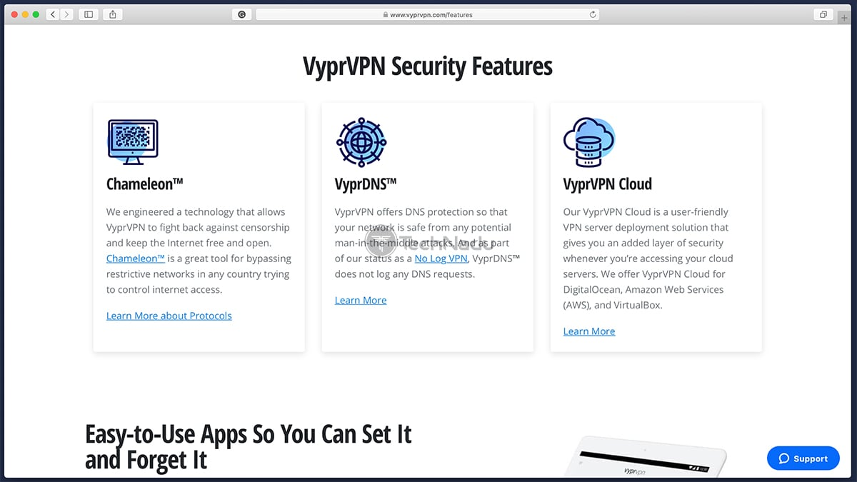 VyprVPN Security Features