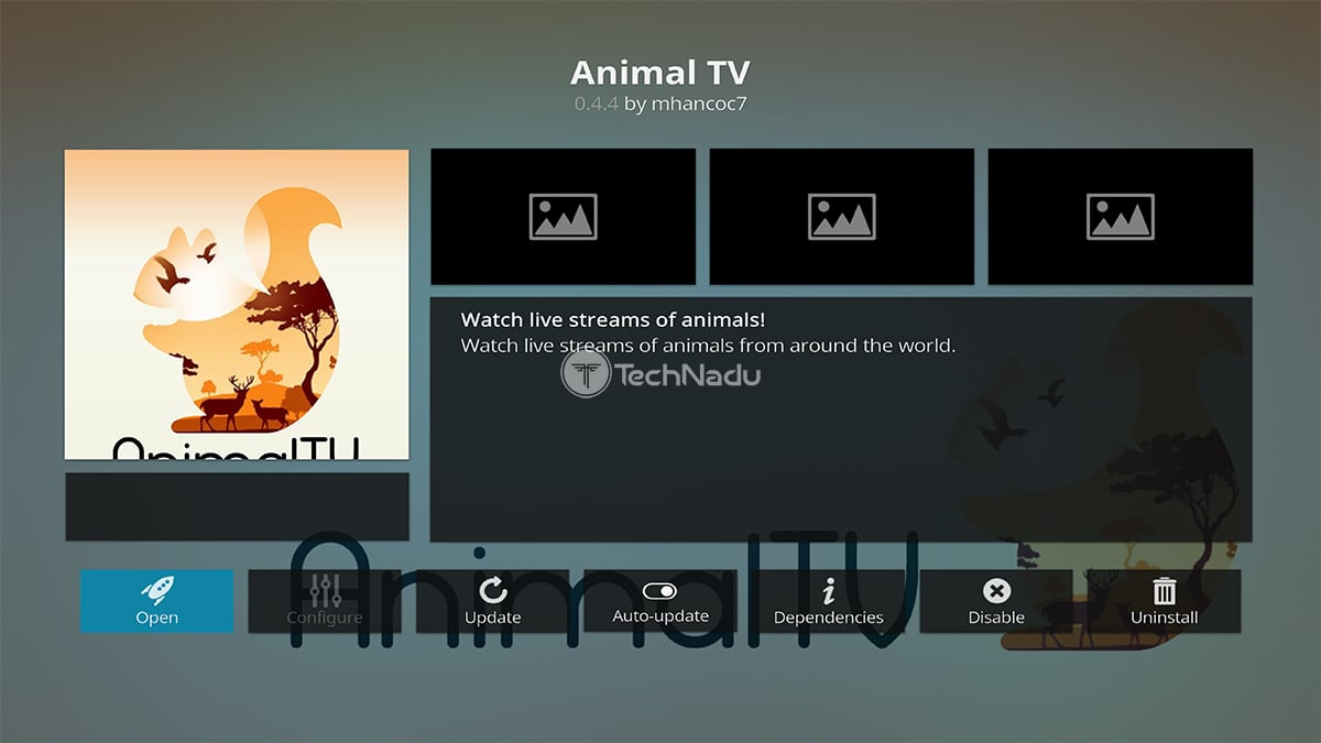 Animal TV Kodi Addon