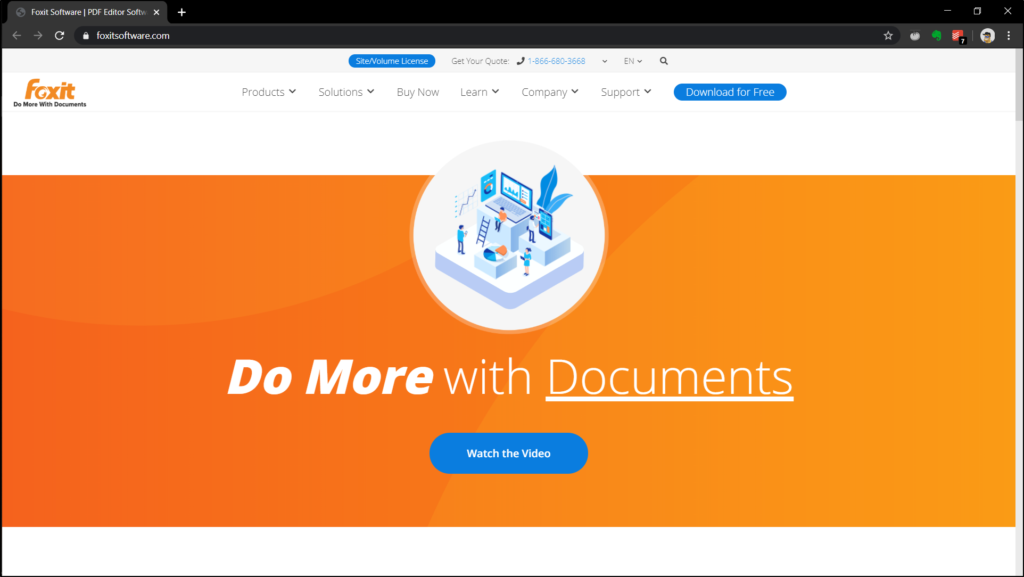 Free PDF Editors Foxit Reader