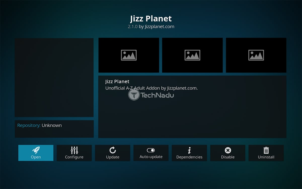 Jizz Planet Kodi Addon