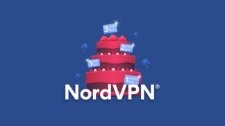 NordVPN Birthday Logo