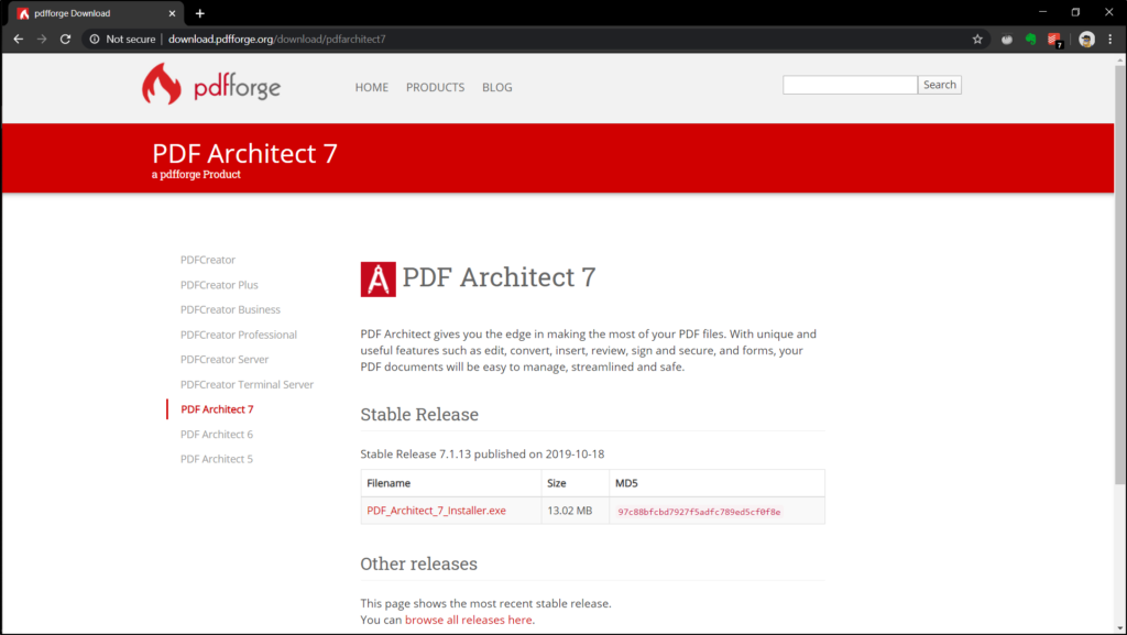 PDF Architect 7