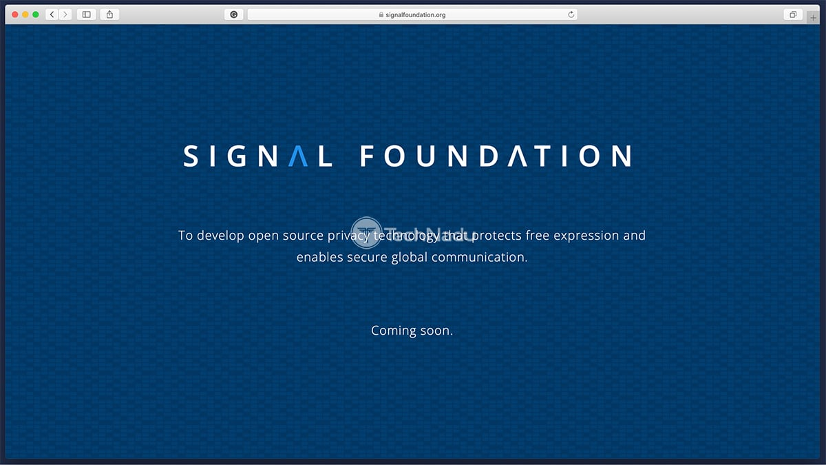 Signal Foundation Website