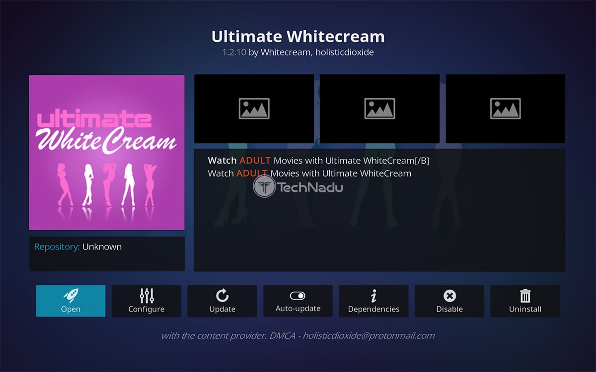 Ultimate Whitecream Kodi Addon